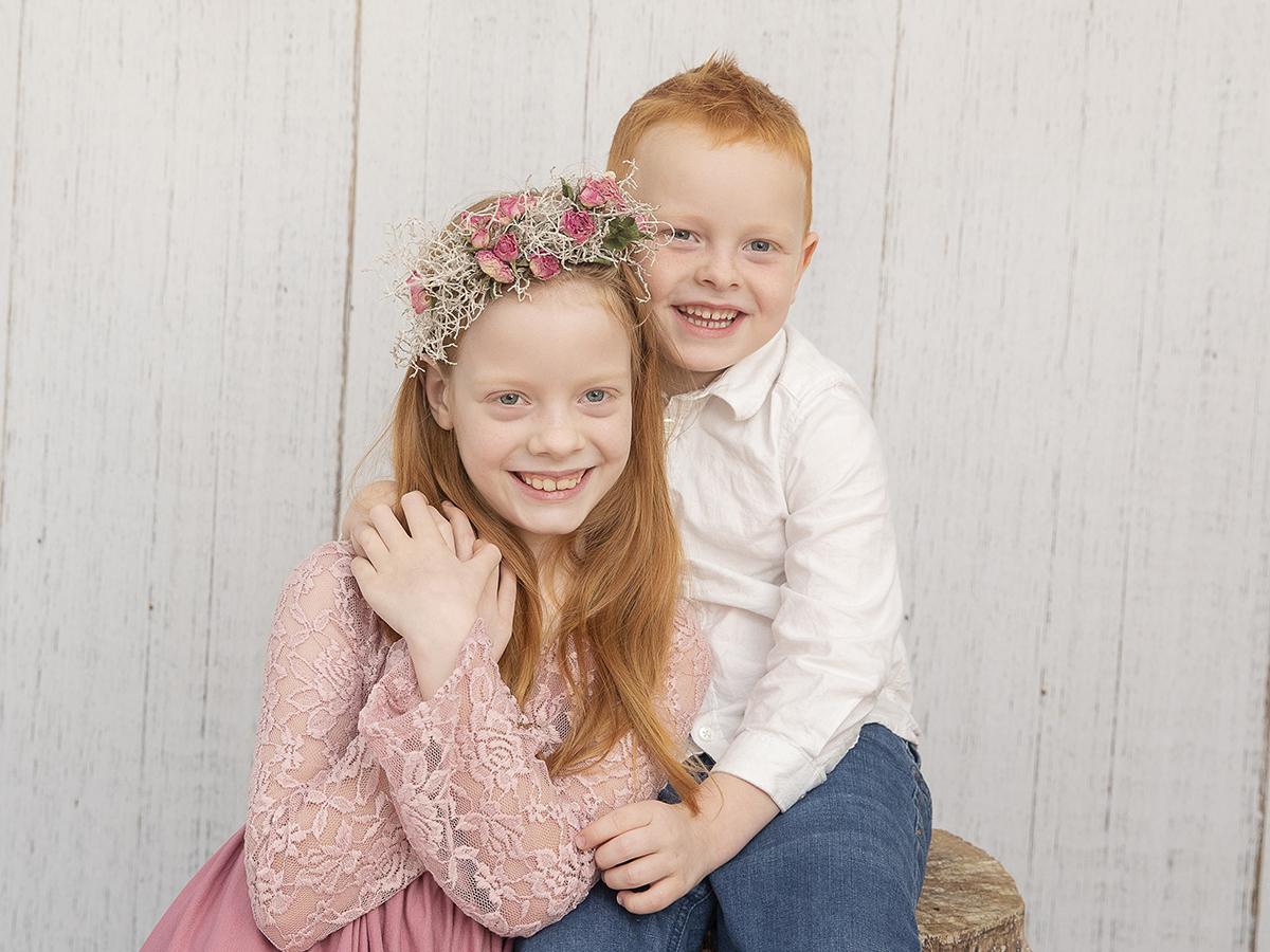 søskendefotografering