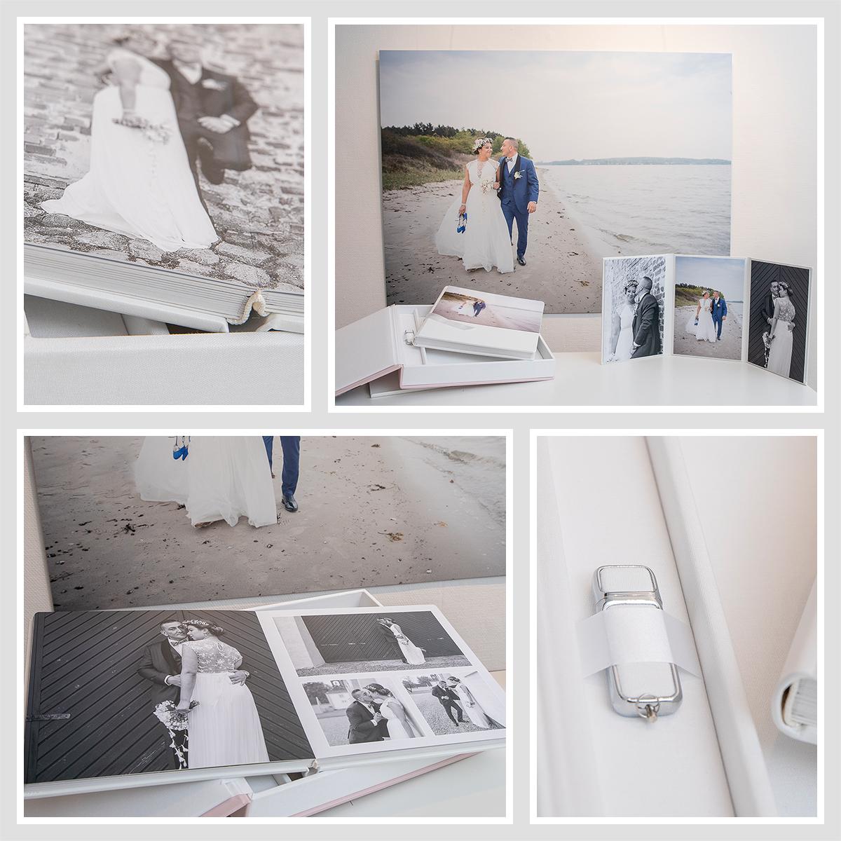 Pinkstudio by Angelina Devine album-lille Vind for 15.000 kr bryllupsfotografering Bryllup Nyheder Tilbud