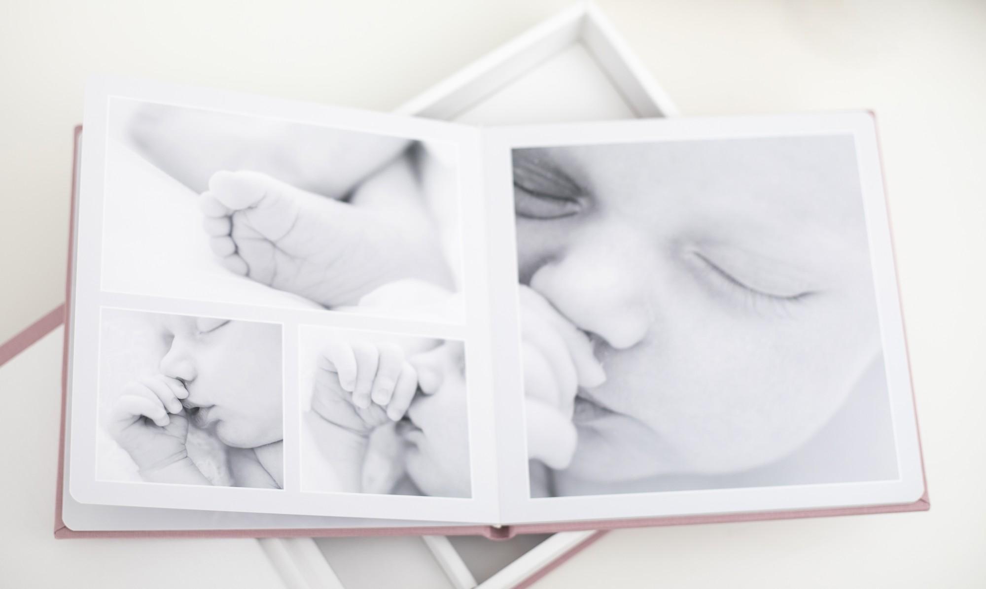 Pinkstudio by Angelina Devine Album-væg-Clara-5 Forårstilbud #2: Kvartalspakke + 2 Baby Børn Portræt Tilbud