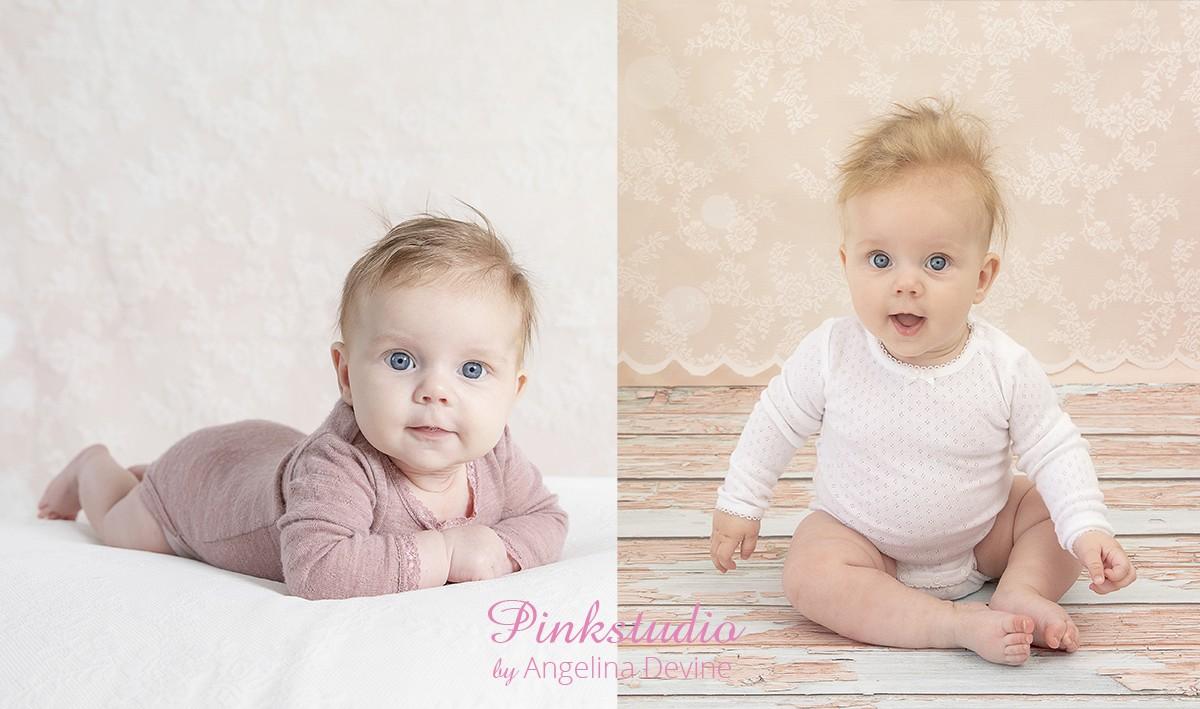 Pinkstudio by Angelina Devine Alberte-016 Kvartalspakke GIVE AWAY Baby Nyheder Portræt Tilbud