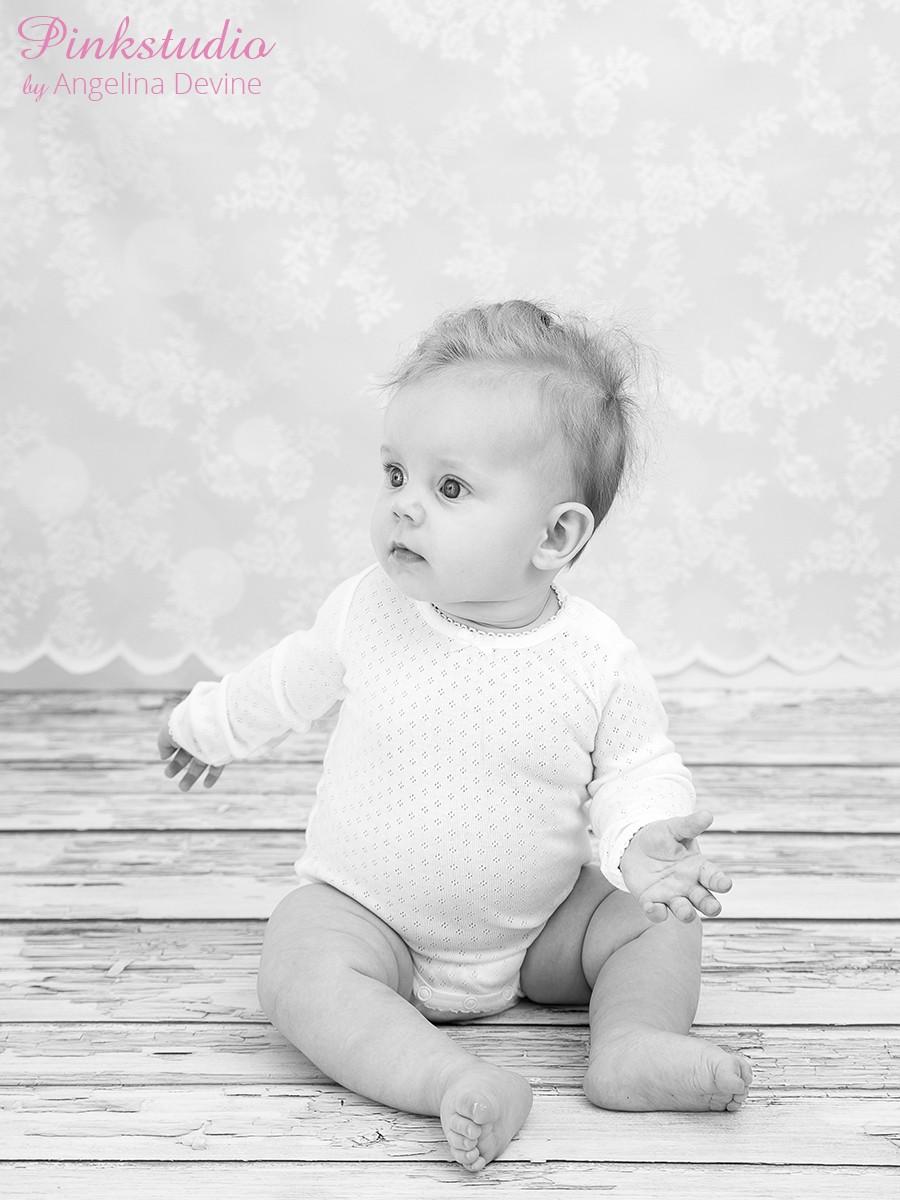 Pinkstudio by Angelina Devine Alberte-6-mdr-089 Fjerde Advent: Kvartalspakke Baby Portræt Tilbud
