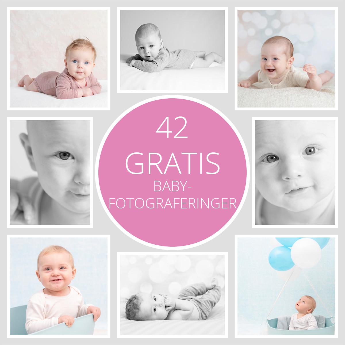 Pinkstudio by Angelina Devine GRATIS2020-3 Fødselsdagstilbud: GRATIS babyfotografering Baby Nyheder Portræt