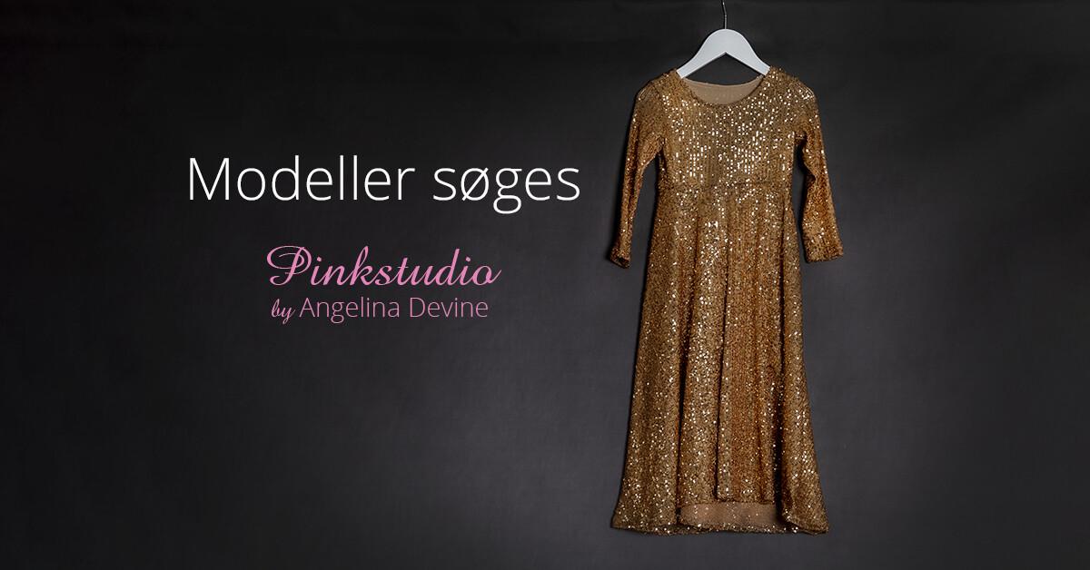 Pinkstudio by Angelina Devine guldkjole Modeller søges: Guld kjolerne Nyheder Tilbud